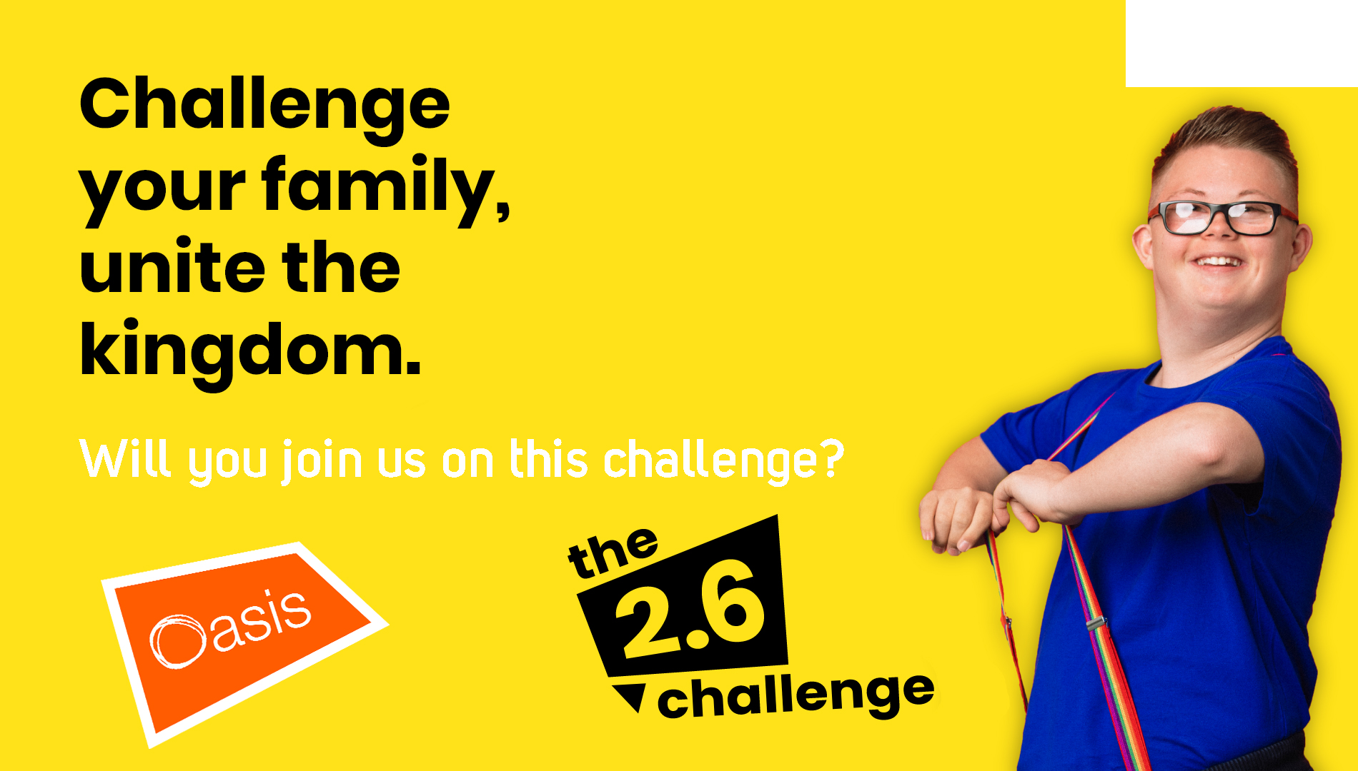 Join us on the 2.6 Challenge!